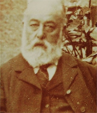 Frederick Alvah Miller, Agatha Christie's father. He died when she was only 11.